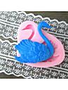Swan Formad Bake fandant mögel, L6cm * W5.5cm * H1.5cm