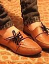 Chaussures Femme - Décontracté - Noir / Marron - Talon Plat - Confort / Bout Arrondi - Mocassins - Similicuir