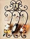 paroi métallique art fer décoration murale porte-bouteilles art mural deux couleurs mural optionnel décor