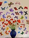 Createforlife ® Cartoon Fjärilar Kids Nursery Room Wall Sticker Wall Art dekaler