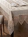 1 Mélange Lin/Coton Carré Nappes de table