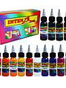 Tattoo Ink Set 14 Color 30Ml