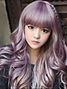 Japanska Harajuku dragk Mix Lila Gradient lockigt Lolita Cosplay Party Wig