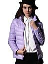 kaluleaf lung maneca de moda montat solid vesta de culoare jos