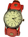 Timi Kvinnors Vintage Solid Color Leather Watch-W1275