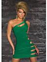 Dulci femei Cut Out solid Culoare Bodycon Dress