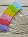gel skyfflar kräm skrapa, silikon 25.6 × 5.3 × 5,3 cm (10,1 × 2,1 × 2,1 tum)