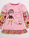 Fata lui Roz Floral Bumbac Iarnă / Primăvară / Toamnă Roz