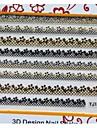 ongles manucure bricolage stickers de décoration pour la maman chaude