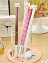 drăguț pixuri cu gel de design din plastic pisică (x1pcs culoare aleatorii)