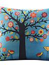 vackert träd bomull / linne dekorativa örngott