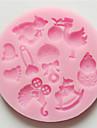 Moule de Cuisson Cartoon 3D Pour Gâteau Pour Cookie Pour Tarte Silikon Ecologique Haute qualité Papier à cuire