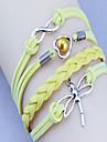älskar kvinnors vintage trollslända kärlek 8 väva armband