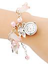 pentru Doamne Ceas La Modă Ceas Brățară Quartz Bandă Perle Pink Roz