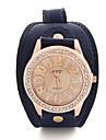 Dida kvinnors vintage nummer print klocka