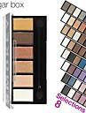 6 färger ögonskugga palett makeup kit