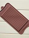 stora chokladform choklad formar, silikon 22,5 × 10,5 × 0,5 cm (8,9 × 4,1 × 0,2 tum)