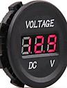 tension conduit volts électrique indicateur de moniteur de mètre testeur dc 12v-24v voiture numérique