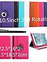 360 cas de protection rotative universelle karzea® avec support et stylet pour 9-10,5 pouces tablette Google / ASUS / amazon