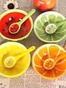 belle conception de fruits bols en céramique pastèque, 13x13x4.2cm