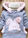 Fata lui Toamna/Iarnă/Primăvara Micro-elastic Mediu Mânecă Lungă Hoodies & Bluze ( Bumbac )