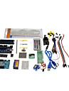 kt0001 r3 kit d'apprentissage du démarreur uno pour cartes Arduino officielles multicolore