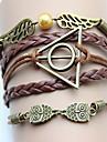 älskar kvinnors vintage geometrisk djur väva armband