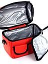 värmeisolering väska lunch väska bröstmjölk förvaringsväska oxford tyg färg slumpmässigt 24 * 16 * 21cm