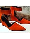 chaussures pour femmes pompes bout pointu talon aiguille chaussures plus de couleurs disponibles