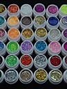 36st glitter uv färg gel snabbtorkande rengöringsmedel polish