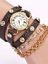 sju flicka kedja armband klocka _36