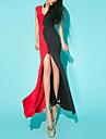 culoare de contrast spatele gol femei GGN lui taie rochie sexy