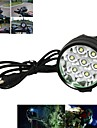 Pannlampor / Cykellyktor / Framlykta till cykel LED Cree XM-L T6 Cykelsport Laddningsbar / Vinklad Ficklampa 18650 7000 Lumen Batteri