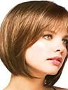 vackra mode ljusbrun färg kort peruk