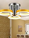 Montage du flux ,  Contemporain Traditionnel/Classique Chrome Fonctionnalité for LED MétalSalle de séjour Chambre à coucher Bureau/Bureau