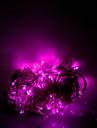 10m de 100 de led-uri de Crăciun Halloween lumini decorative festiv roz deschis șir benzi de lumină lumini-ordinare (220V)