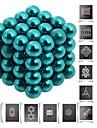 64pcs 5mm DIY buckyballs och buckycubes magnetiska block bollar leksaker