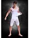 abdomen vêtements graisse corps brûlant sculpter blanc haut de fortes personnalisée légers maille respirante hommes de ceinture de