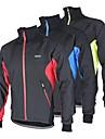 Arsuxeo Veste de Cyclisme Homme Vélo Veste Anorak fleece / Polaires Hauts/TopsRespirable Garder au chaud Pare-vent Design Anatomique