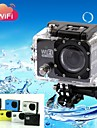 Montering / Charger / Actionkamera / Sportkamera / Vattentätt hus 4608 x 3456 Anti-Shock / WIFI 2 CMOS 32 GB H.264Ryska / Japanska /