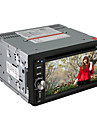 """6.2 """"écran tactile motorisé 2-din lecteur DVD de voiture avec lecteur DVD, VTT, Bluetooth, iPod, FM, USB / SD, CFC"""