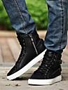 Chaussures Hommes - Décontracté - Noir / Rouge / Blanc - Similicuir - Baskets à la Mode