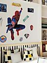doudouwo® väggdekorationer väggdekaler, människor den universella människan pvc vägg klistermärke
