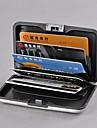 deluxe aluminium plast plånbok bank id visitkortshållare skyddar fallet