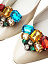 kristall dekorativa accenter för skor en st