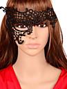 Mască Cosplay Festival/Sărbătoare Costume de Halloween Negru Solid / Dantelă Mască Halloween Unisex