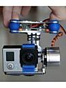 FPV GoPro hjälte 3 kamera gimbal mount PTZ för dji fantom x525 F450 F550 med motorer& kardanupphängningen styrenhet