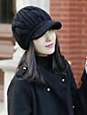 culoare tricotate capac solid femei