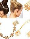 or laisse deux cheveux bijoux de cheveux de mode de peignes