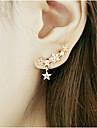 Miki kvinnors satrs dekoration örhängen